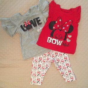 Disney Baby Minnie Mouse 3 piece set!